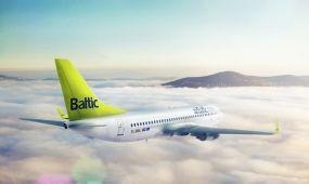 Az airBaltic a Bombardier CS300-as típus első üzemeltetője