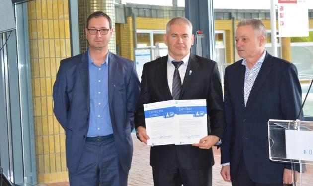 EuropeSpa MED tanúsítvány négy magyar fürdőnek