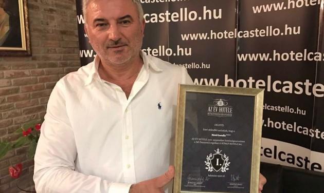 Átadták a Dél-Dunántúl legjobb szállodájának járó közönségdíjat