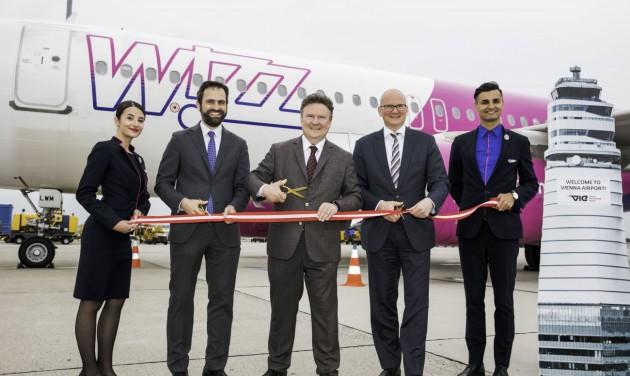 Bázisrepülőteret nyitott Bécsben a Wizz Air