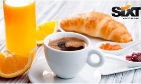 Üzleti reggeli a Sixttel