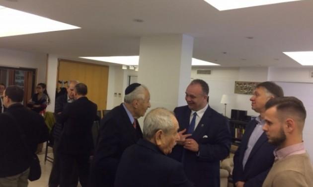 Hévízi delegáció Tel-Avivban