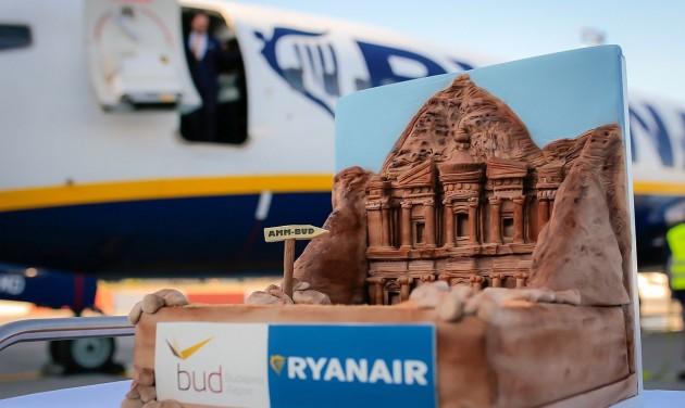 Budapest-Ammán járatot indított a Ryanair