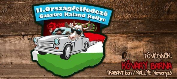 TRABANT ON - II. Országfelfedező Gasztro Kaland Rallye