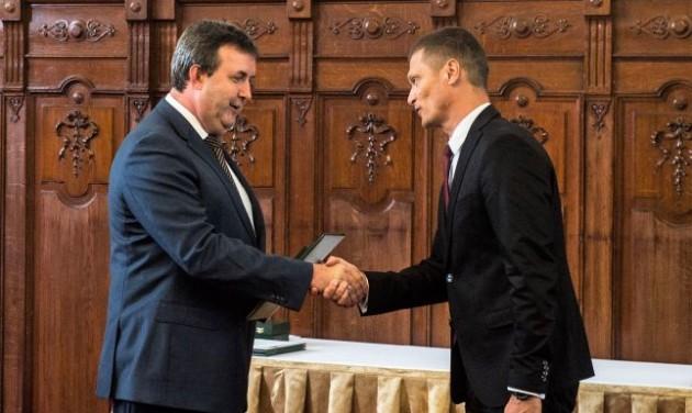 Kitüntették a Debreceni Gyógyfürdő igazgatóját