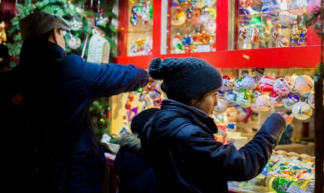 Karácsonyi vásár Pozsonyban