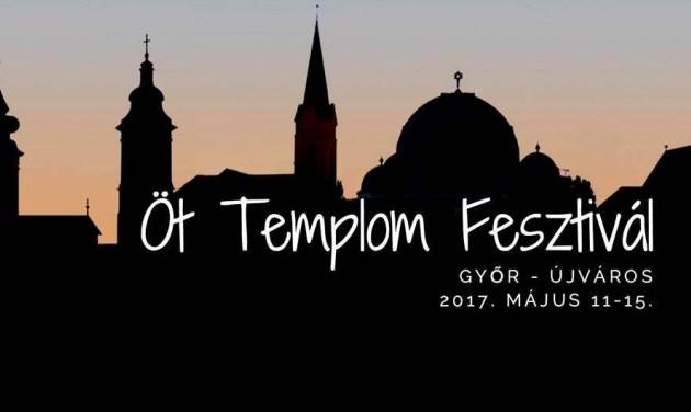 Öt Templom fesztivál Győrött