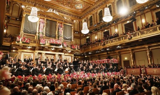 Élő tapsot küldhetnek a nézők a bécsi újévi koncert zenészeinek
