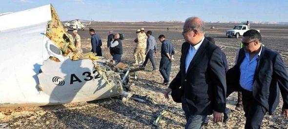 Légikatasztrófa Egyiptom felett - nincs túlélő, folyik a nyomozás