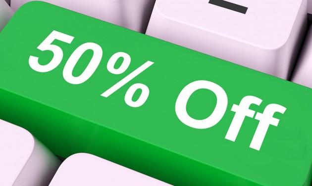 Most -50% az online hirdetések árából!