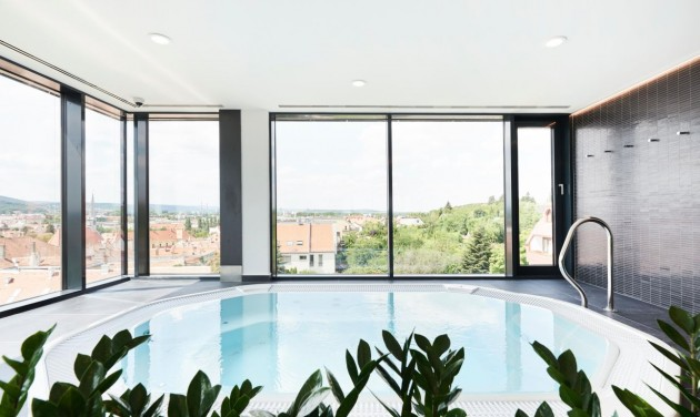 Four-star hotel in Sopron opens Sky Wellness spa section