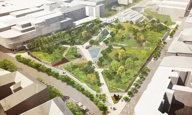 Kezdődik a Millenáris park nagyszabású bővítése