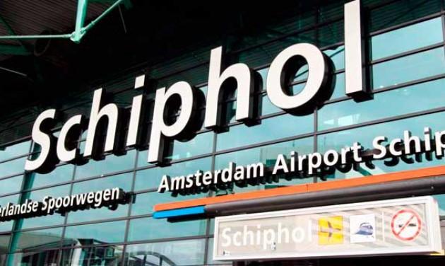 Közlekedési sztrájk bénította meg Schipholt