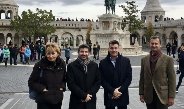 Budapestre látogatott az ECTAA új főtitkára