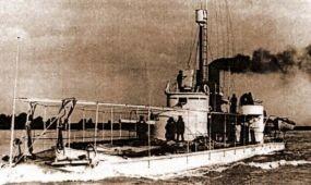 Szentendrén látogatható a Lajta Monitor hadihajó