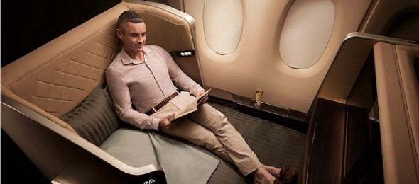 Újgenerációs kabin a Singapore Airlines-nál