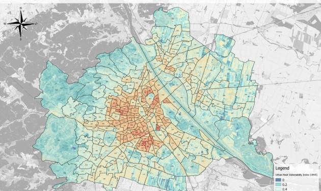 Klímavédelmi hőségtérképet készített Bécs