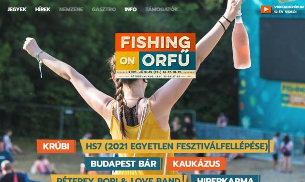 Júniusban tartanák meg a Fishing on Orfű fesztivált