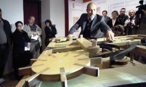 Hétvégi rohamra készül a pécsi Leonardo-kiállítás