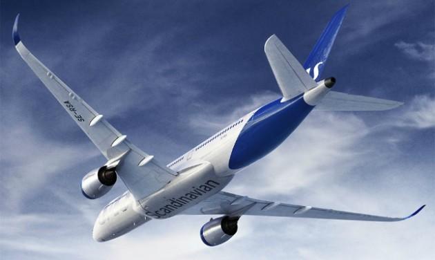 Átfestik a Scandinavian Airlines gépeit