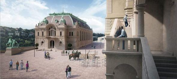 Bemutatták a Csikós-udvar rekonstrukciós tervét