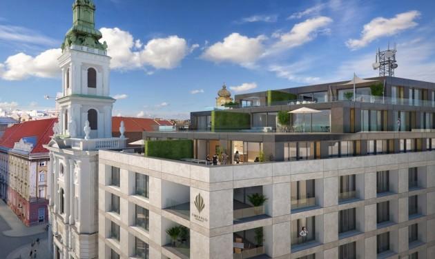2020 végén nyit a négycsillagos Emerald Residence