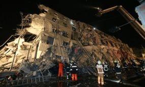 Földrengés Tajvanon - öt halálos áldozat, több tucat sélrült
