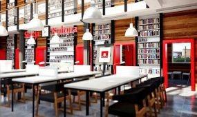 Egy lengyel pályaudvaron lévő könyvtár lett a világon a legszebb