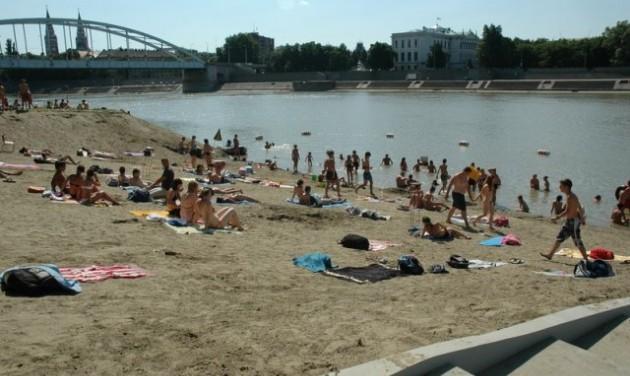 Kishajókikötőt alakítanak ki a Tiszán Szegednél