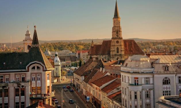 Szép város Kolozsvár - vonattal is
