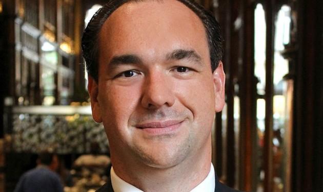 Blaske Gergely a Párisi Udvar Hotel Budapest F&B igazgatója
