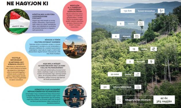 A Mátrát és a Bükköt mutatja be az új MTÜ-kiadvány
