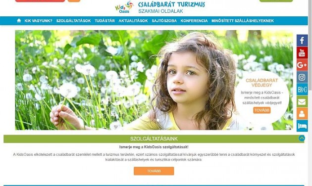 Online havilapot és szakmai oldalt indított a KidsOasis