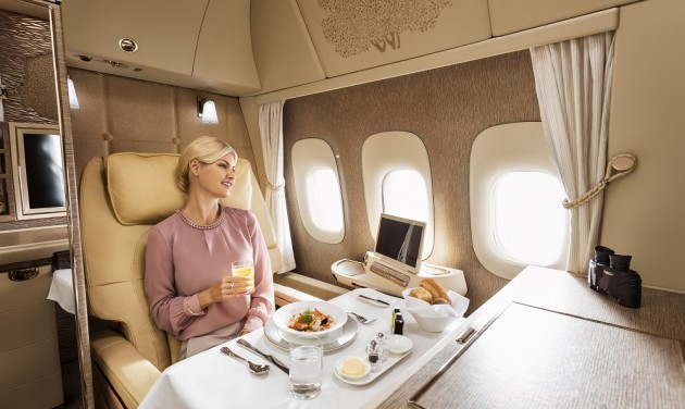 Emirates reintroduces first class cabins on Budapest route