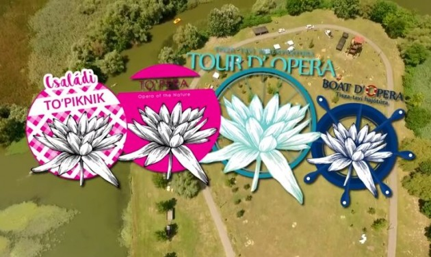 Tour D'Opera és sztárok a Tisza-tavi fesztiválon