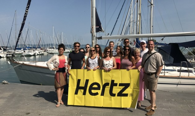 Hertz Sailing Day