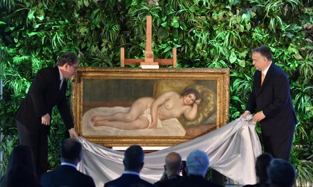 Renoir Fekvő női aktjával gazdagodott a Szépmű