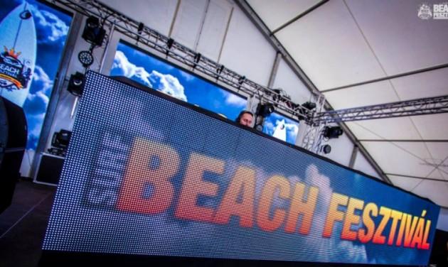 Több mint ötven fellépő a Beach Fesztiválon