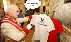 PR-akciók sorozata az osztrák-magyar meccs lázában égő Ausztriában