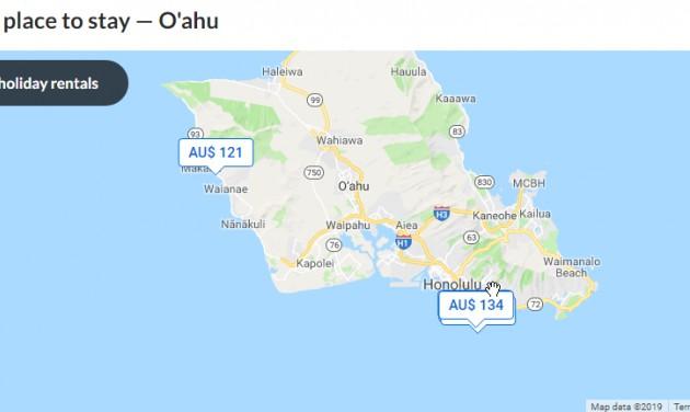 Befellegzett a lakáskiadóknak Honolulun?