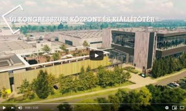 Ilyen lesz Budapest új kongresszusi központja a Hungexpón – videó