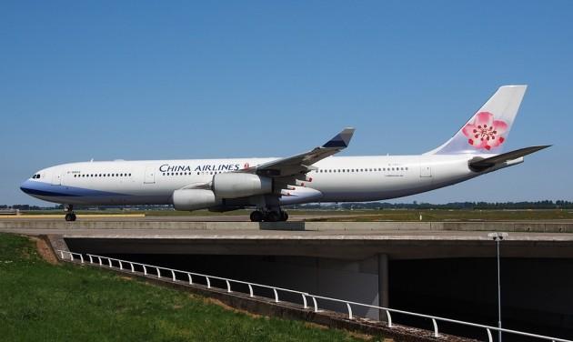 Ingyenes WLAN csatlakozás a China Airlines járatain