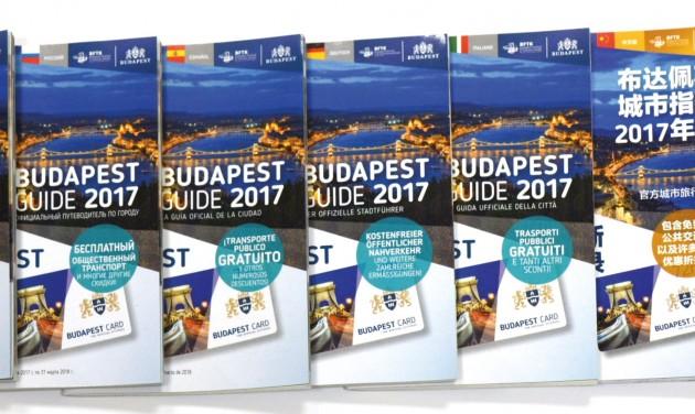 Még egy hétig EARLY BIRD: Budapest Guide és Budapest Card