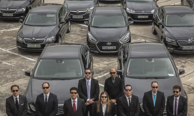 Spanyol taxisok az Uber és a Cabify ellen