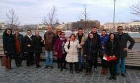 UK study tour Budapesten