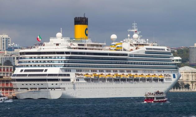 Minden hajóútját felfüggeszti a Costa