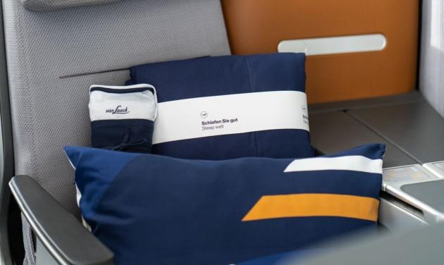 Kényelmesebb pihenést biztosít a Lufthansa