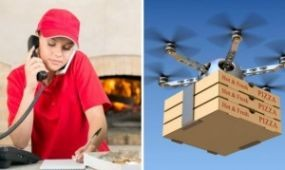 Jönnek a pizzafutár-drónok Új-Zélandon