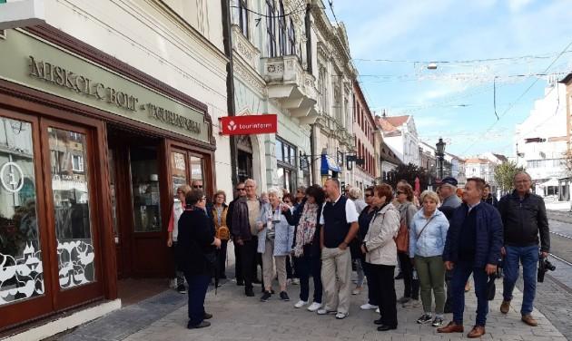 Hévízi szakmai vendégek Miskolcon
