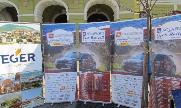 Sok turistát várnak az Eger Rallye szezonnyitó futamára
